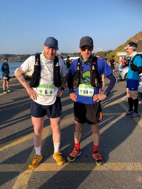 Tim and Ben Ultramarathon