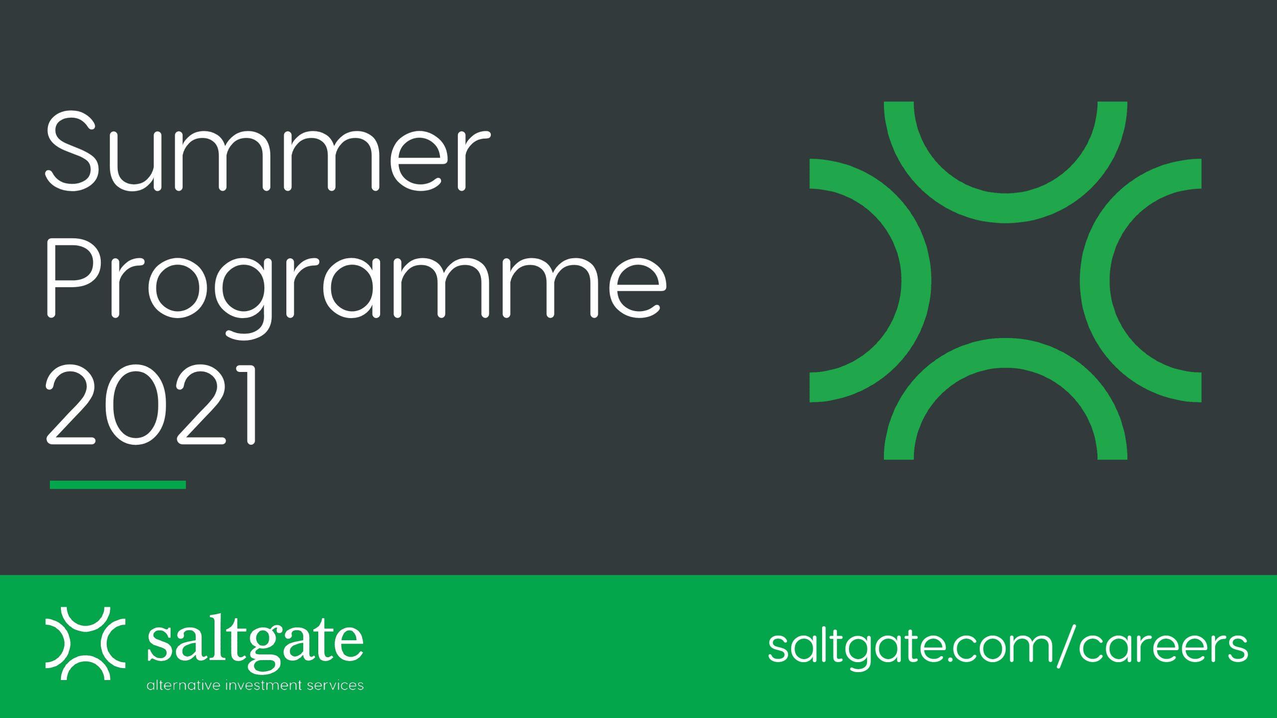 Summer Programme 2021 Graphic